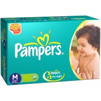 Pampers Diapers - Medium (6-11 Kgs)