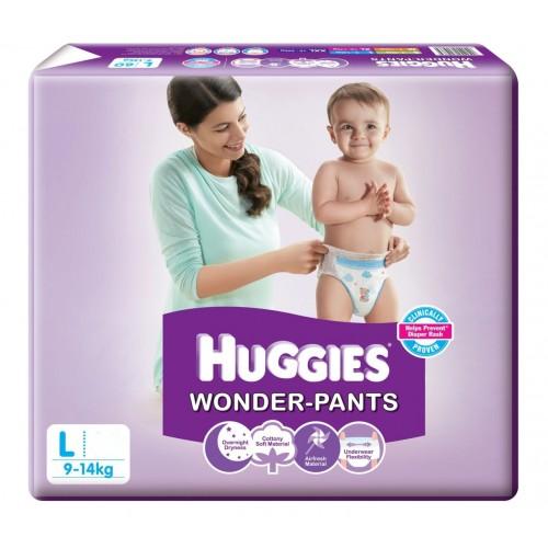 Huggies  Wonder Pants - Large (9-14 Kgs)