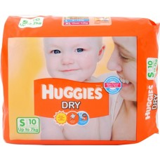 Huggies Diapers -Dry Small  (Upto 7 Kgs)