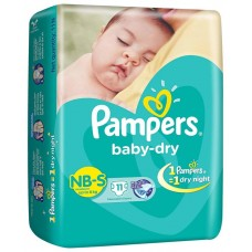 Pampers Diapers - New Born Baby (Upto 8 Kg), 11  Diapers