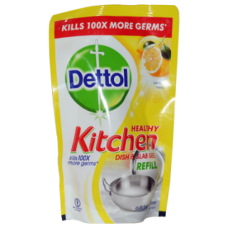 Dettol Dish & Slab Gel - Lemon Fresh (Refill Pack) , 130 ML