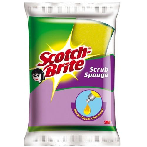 Scotch Brite Scrub Sponge , 1PC
