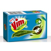 Vim Dishwash Bar  - Lemon (Anti Germ), 300 GM