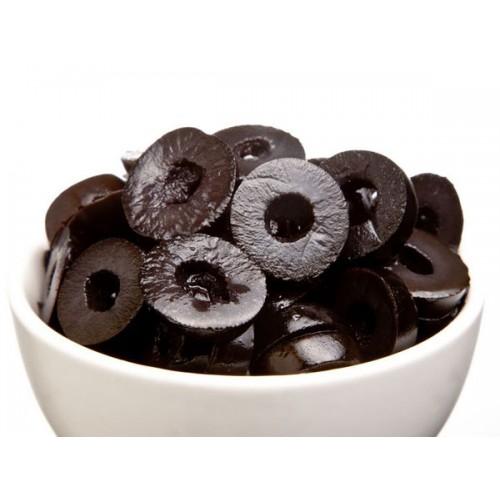 Black Olives - Sliced , 450 Gm Jar