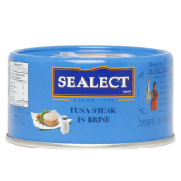 Sealect Tuna Steak - In Brine, 185 GM