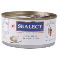 Sealect Tuna Steak - In Spring Water, 185 GM