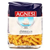 Agneshi Dry Pasta - Fussili, 500 GM