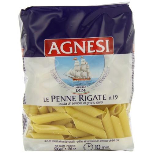 Agnesi Dry Pasta - Penne Rigate, 500 GM