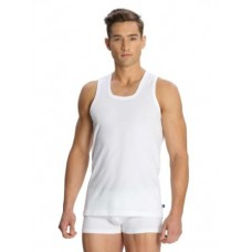Jockey - White Modern vest , Pack Of 2