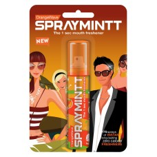 Spraymint Mouth Freshener - Orange Wave , 1 PC