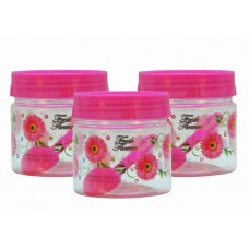 SKI Easy Pet Jar Pink 250 ML - Set Of 3