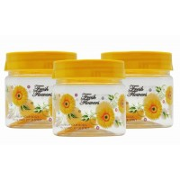 SKI Easy Pet Jar Yellow 250 ML - Set Of 3