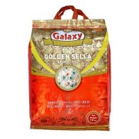 Galaxy Golden Sella Basmati Rice, 5 KG Pack