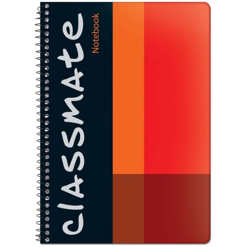 Classmate Long Spiral Notebook - 6 Subjects , 300 Pages