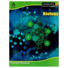 Classmate Practical Notebook - Biology , 116 Pages