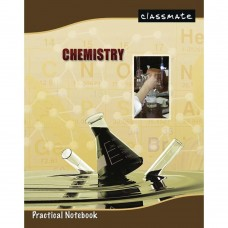 Classmate Practical Notebook - Chemistry , 116 Pages