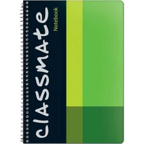 Classmate Spiral Notebook - Single Line , 160 Pages