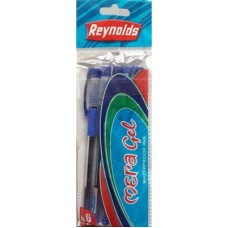 Reynolds Gel Pen - Mera Gel , Pack Of 5 Pcs