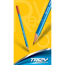 Reynolds Trizy - Triangular Pencils , Pack Of 10