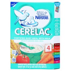 Nestle Cerelac  -  Multigrain Dal veg (Stage 4) , 300GM