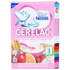 Nestle Cerelac  -  Wheat Rice Mix Fruit (Stage 3) , 300GM