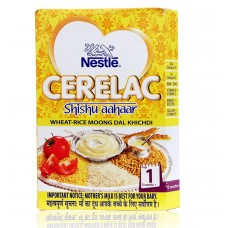 Nestle Cerelac  -  Wheat Rice Moong Daal Khichdi (Stage 1) , 300GM