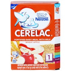 Nestle Cerelac  - Wheat Apple (Stage 1) , 300GM
