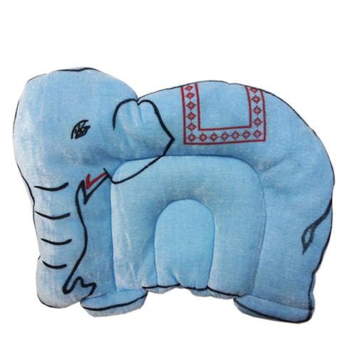Hello Baby Mustard (Rai) Pillow - Elephant Shape