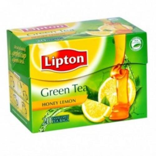 Lipton Green Tea Bags  - Honey Lemon