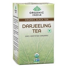 Organic India Black Tea - Darjeeling , 18 Tea Bags
