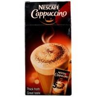 Nescafe Coffee - Cappuccino , 5 Sachets Of 15 GM Each