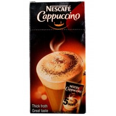 Nescafe Coffee - Cappuccino , 5 Sachets Of 15 GM Each