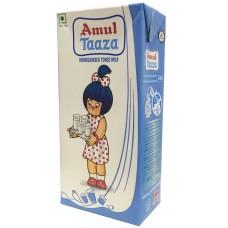 Amul Taaza - Toned Milk , 1 Ltr Tetra