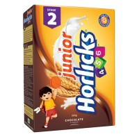 Junior Horlicks 456 Stage 2  - Chocolate Refill , 500 GM