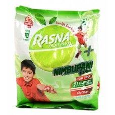 Rasna Fruitplus - Nimbupani (Lemon), 500 GM