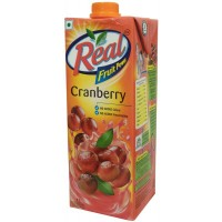Real Fruit Power Juice - Cranberry , 1 LT