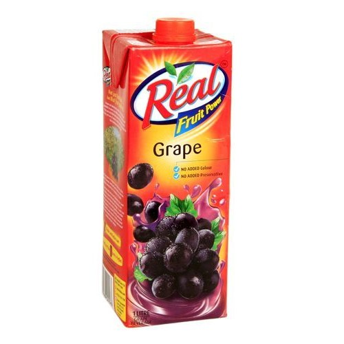Real Fruit Power Juice - Grape , 1 LT