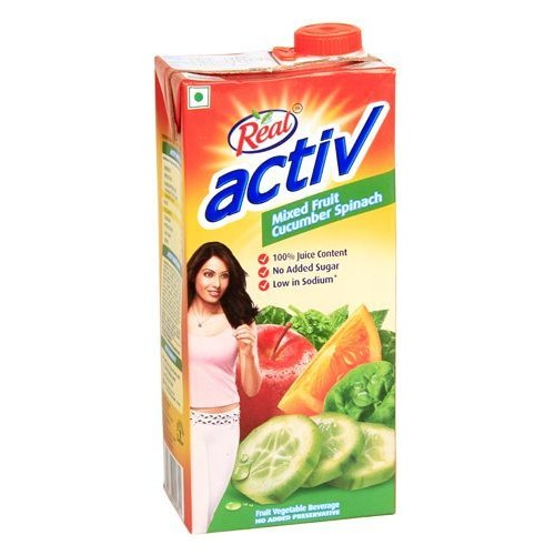 Real Activ - Cucumber & Spinach, 1 LT