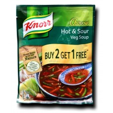 Knorr Chinese Soup - Hot & Sour Veg , 55GM
