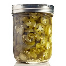 Jalapenos - Sliced , 300 Gm Jar