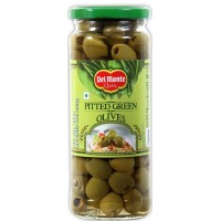 Delmonte Green Olives - Pitted , 450 Gm Jar