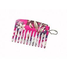 Feather Feel Printed Mini Comb ,1PC