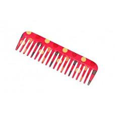 Feather Feel Printed Shampoo Comb , 1PC