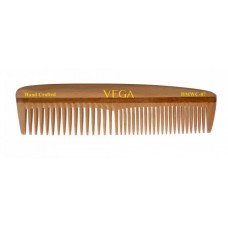 Vega Hand Made Wooden Comb - HMWC-07, 1 PC