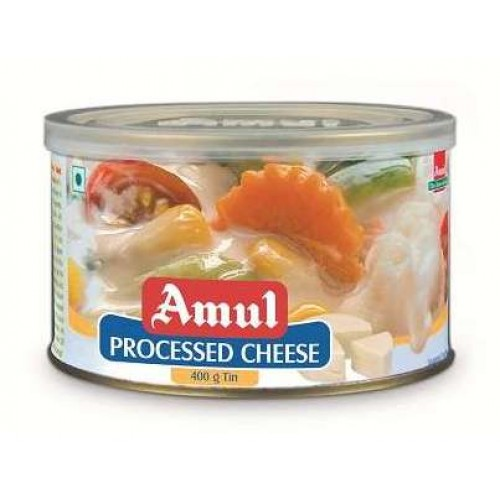 Amul Cheese - Processed , 400 GM Tin