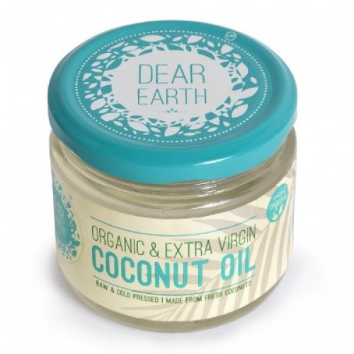 Dear Earth Organic Extra Virgin Coconut Oil, 300 ML