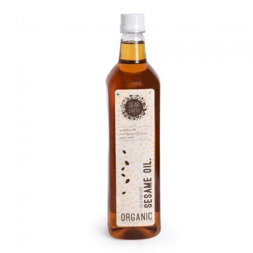 Dear Earth Organic Sesame Oil, 1 Ltr