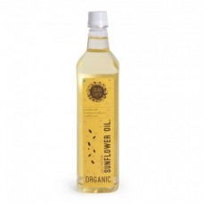 Dear Earth Organic Sunflower Oil, 1 Ltr