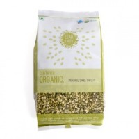 Dear Earth Organic Moong Dal Split ( Moong Chilka Daal)