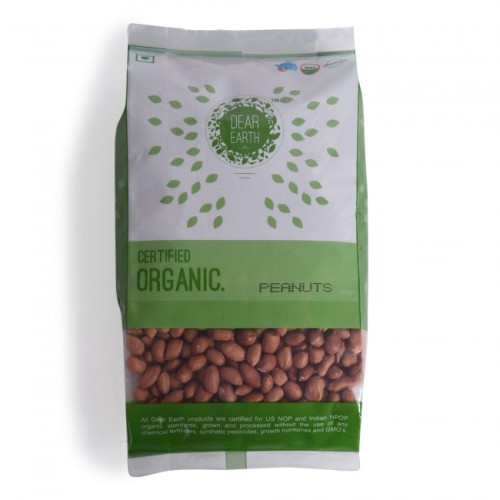 Dear Earth Organic Raw Peanuts
